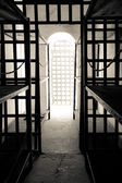 Cell in Yuma territorial prison — Stock Photo