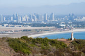 Panorama of San Diego, California — Стоковое фото
