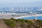 Panorama of San Diego, California — Stock fotografie