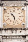 Clock tower, City Hall of Modena, Italy — Stock Photo