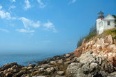 Bass harbor lighthouse — Stock Photo