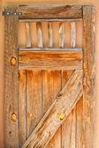 Old wooden door,Albuquerque town — Stock Photo