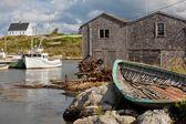 Village of Peggy's Cove in Nova Scotia — Stock Photo
