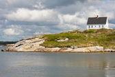 Ev peggys Cove, nova scotia — Stok fotoğraf