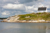 House  in Peggys Cove, Nova Scotia — Stok fotoğraf