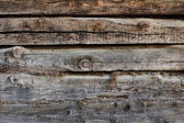 Close-up of the old wall of the timber — Stock Photo