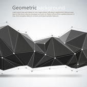 Geometrical abstract background. Vector illustration — Stock Vector