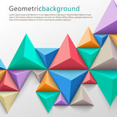 Geometrical abstract background — Vettoriale Stock