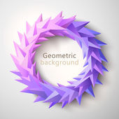 Geometrical abstract background — Vector de stock