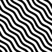 Seamless black-and-white striped background. Vector illustration — Vecteur