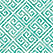 Seamless Greek Key Background Pattern — Stock Vector