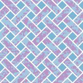 Seamless Basket Weave Background Pattern — Stock Vector