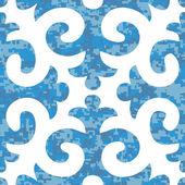 Fleur de Lis Background Pattern — Stock Vector