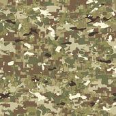 Multi terrain pattern camouflage — Stock Vector