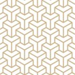 Geometric Hexagon Cube Corner Pattern — Stock Vector #37206647