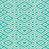 Seamless Diamond Ikat Background — Stock Vector