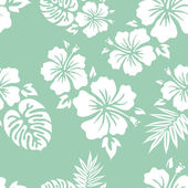 Hawaiian Aloha Shirt Background — Vettoriale Stock