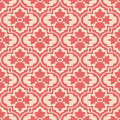 Retro Modern Floral Background — 图库矢量图片