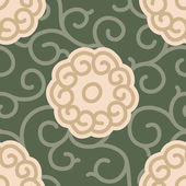 Traditional Japanese Fabric  Pattern — Vecteur