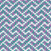 Ikat Interlocking Geometric Fret — Vettoriale Stock