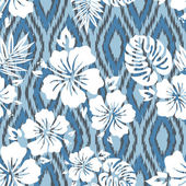 Aloha Shirt Pattern — Stock Vector