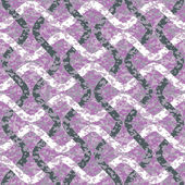 Distressed Interlocking Wave Lines Pattern — Vecteur