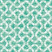 Distressed Interlocking Wave Lines Pattern — Vecteur
