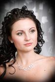 Un retrato de una chica hermosa — Foto de Stock