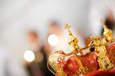 Wedding crown — Stock Photo