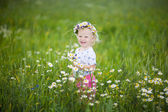 Child in summer — Stock Photo