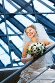 Modern bride — Stock Photo