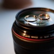 Objective lens and rings — Photo #21608333