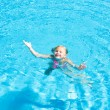 Swimming girl — Stock Photo #22734265
