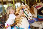 Child on the horse — Photo