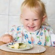 child eating — Stock Photo