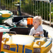 Child on the attraction — Stock Photo #22798190