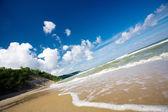 Sea surf wave — Stock Photo