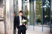 à espera de uma noiva — Foto Stock