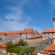 Stock Photo: View of Krumlov