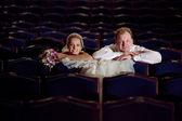 In the theatre — Stock Photo