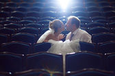 In the theatre — Stock Photo