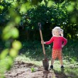 Child ready to dig — Stock Photo #23692767
