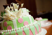 Widding cake — Stock Photo