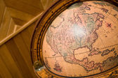 Part of an ancient globe — Stock Photo