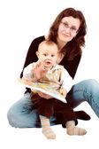 Mom and child — Stock Photo