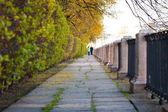 On the embankment — Stock Photo