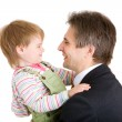 Girl with father — Stock Photo #26817433