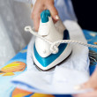 Ironing shirt — Foto de Stock
