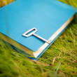 Stock Photo: Key on the book