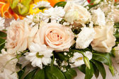 Bouquet with roses — Stockfoto